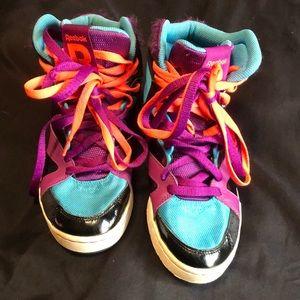 Reebok high top shoes
